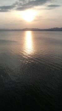 宍道湖の夕陽とシジミ_1.jpgのサムネール画像